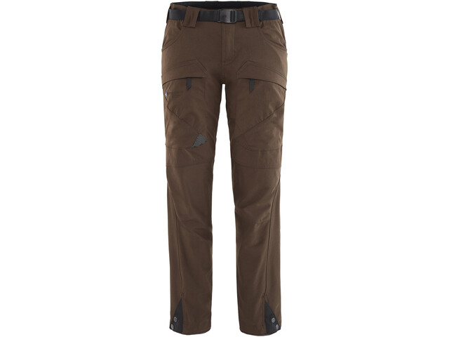 Klättermusen Gere 2.0 Pants Regular Dam dark coffee